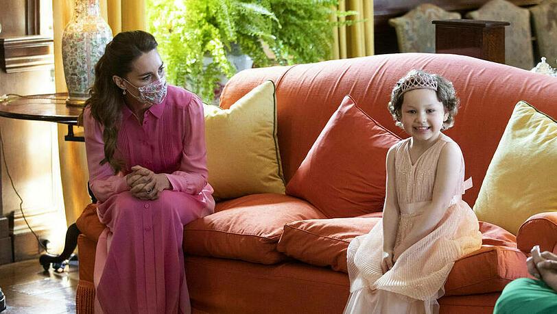 Herzogin Kate erfüllt einem kleinen Mädchen einen großen Wunsch