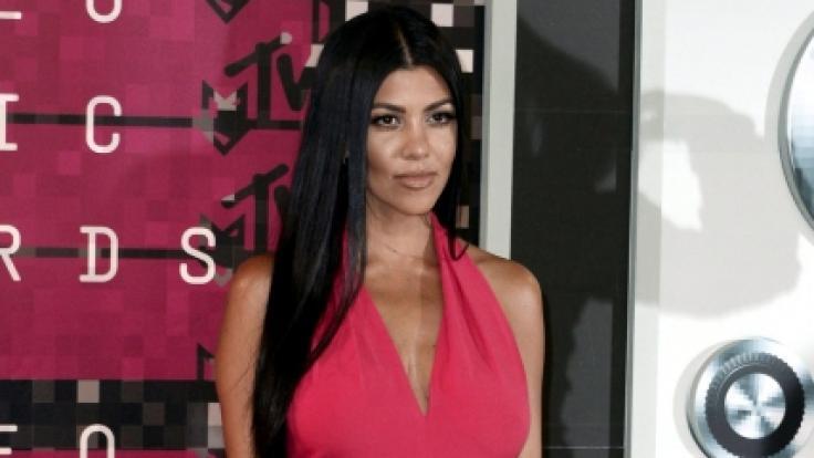 Kourtney Kardashian: Vorsicht, Nippel! DIESESNegligé zeigt fast zu viel