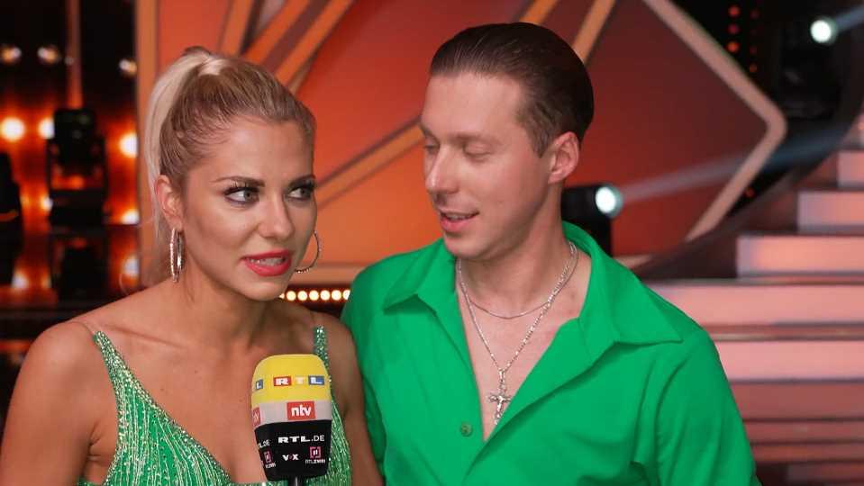 Let's Dance 2021: Bei Valentina Pahde und Valentin Lusin herrscht während der Trainings Pizza-Verbot