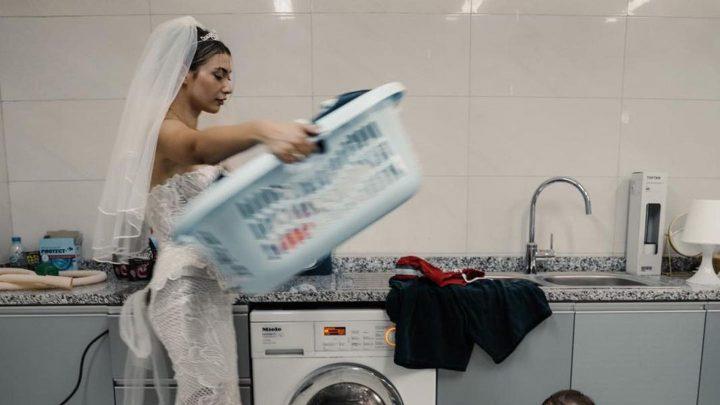 Paola passt nach zwei Schwangerschaften noch ins Brautkleid!
