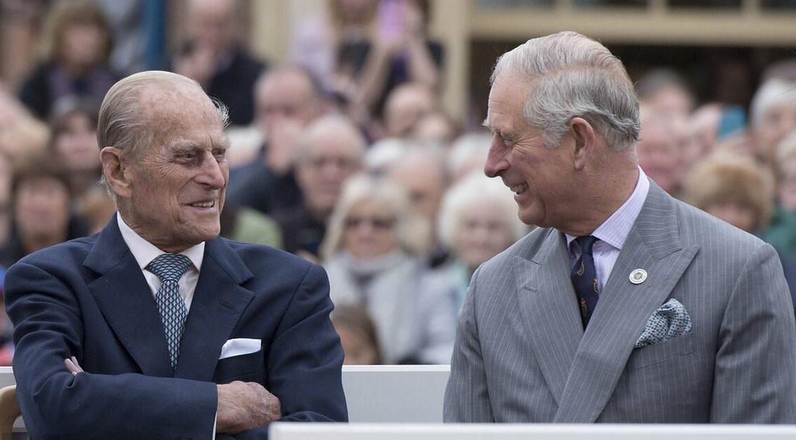 Prinz Charles teilt Kindheitsfoto mit Prinz Philip
