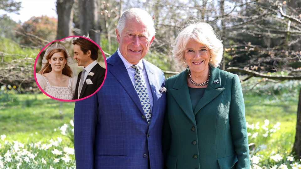 Prinz Charles und Camilla freuen sich über Beatrice' Baby