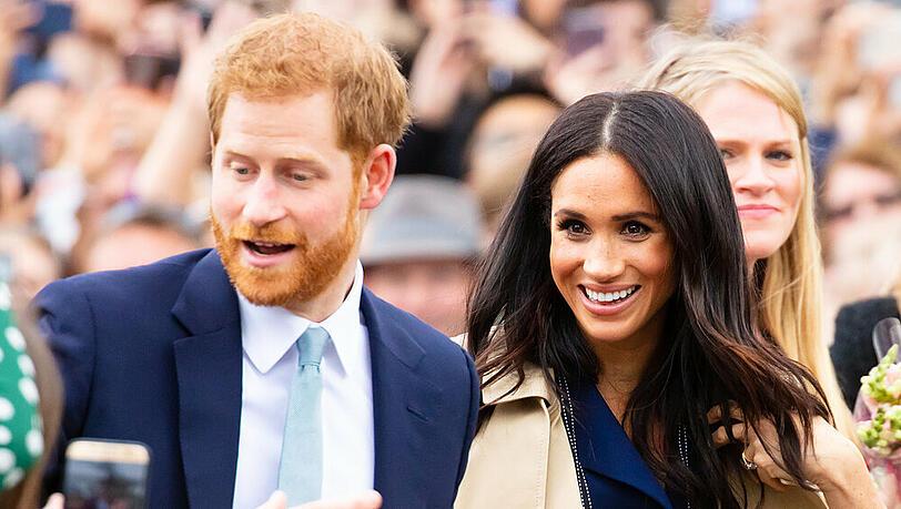 Prinz Harry und Herzogin Meghan: Ihre Wachsfiguren sind umgezogen