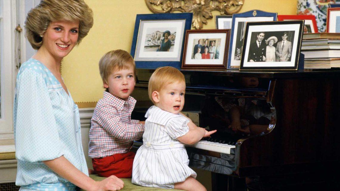 Prinzessin Diana: Alter Brief zeigt, wie gut das Verhältnis ihrer Söhne einst war
