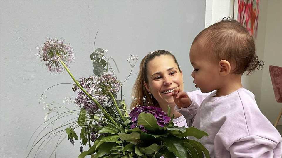 Schwangerschaftsendspurt: Nina Noel hat Angst vor der Geburt