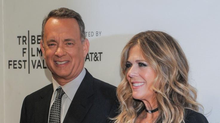 Tom Hanks und Rita Wilson: So süß feierten sie ihren 33. Hochzeitstag