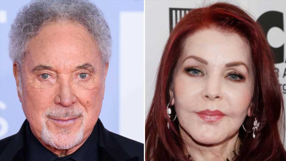 Tom Jones spricht über Flirt-Gerüchte mit Priscilla Presley