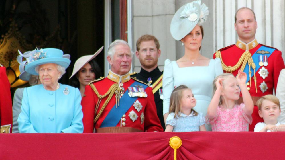 """""""Große Kluft"""" zwischen der Königsfamilie und Harry und Meghan"""