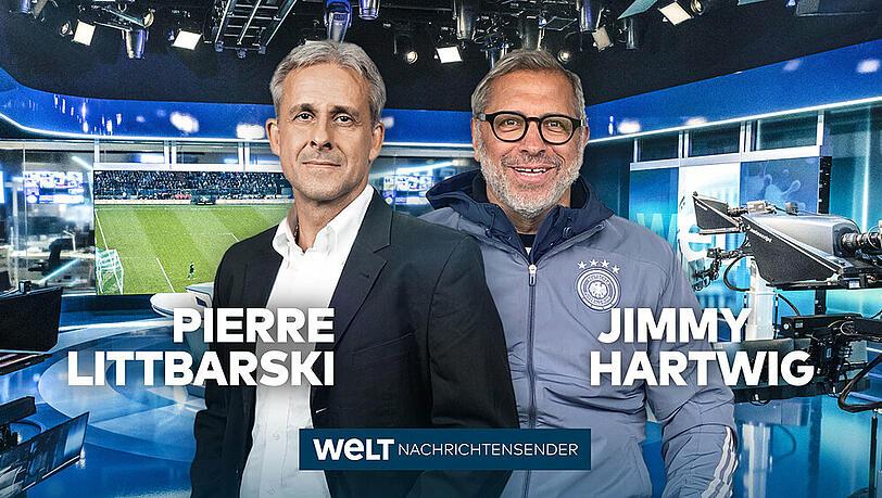 Auch Jimmy Hartwig und Pierre Littbarski kommentieren die Fußball-EM