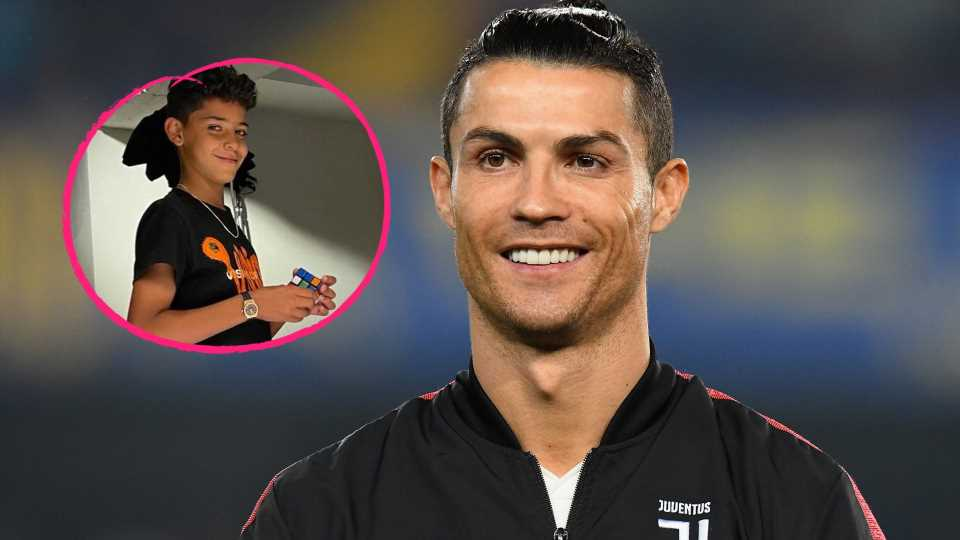 Elf Jahre: So süß gratuliert Cristiano Ronaldo seinem Sohn