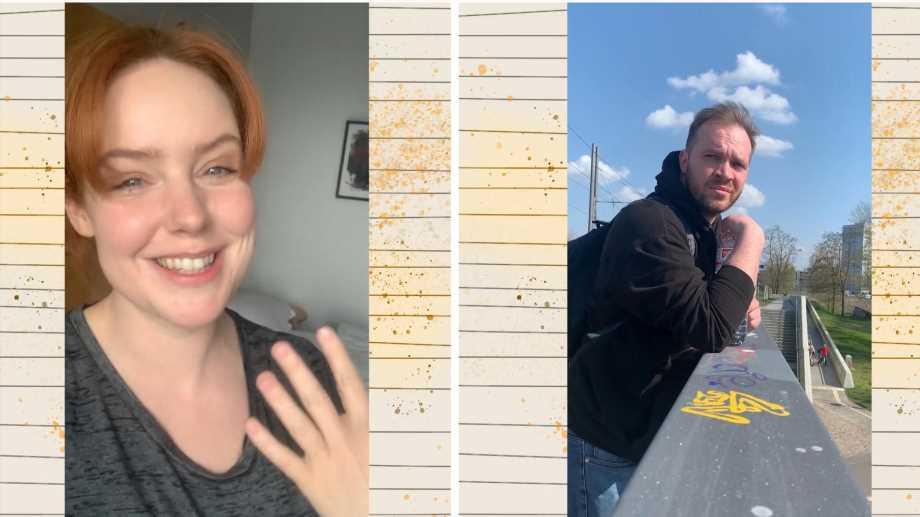 GZSZ-Stars Olivia Marei und Patrick Heinrich zeigen Quarantäne-Tagebuch