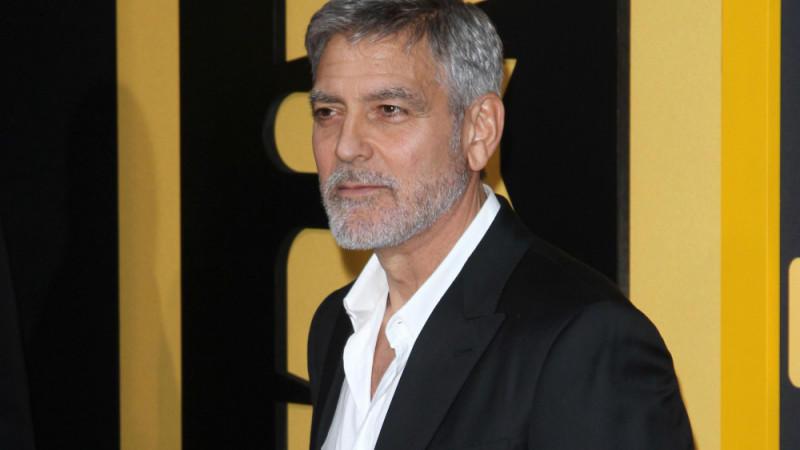 George Clooney: Lustiger Papa