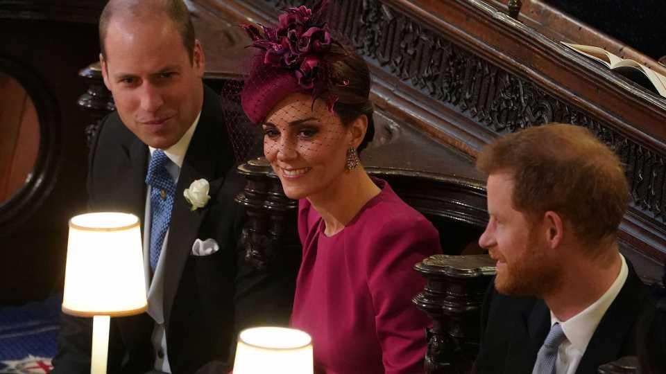 Kate als Friedensstifterin zwischen Prinz William und Harry?