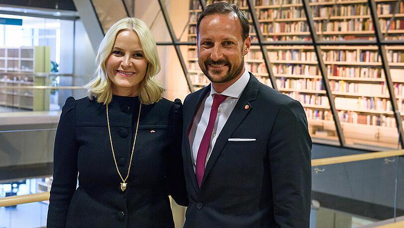 Kronprinz Haakon und Mette-Marit: Kajak-Tour für den guten Zweck