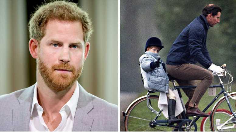 Prinz Harry: Nie mit Charles Fahrrad gefahren? Behauptung ist eine glatte Lüge