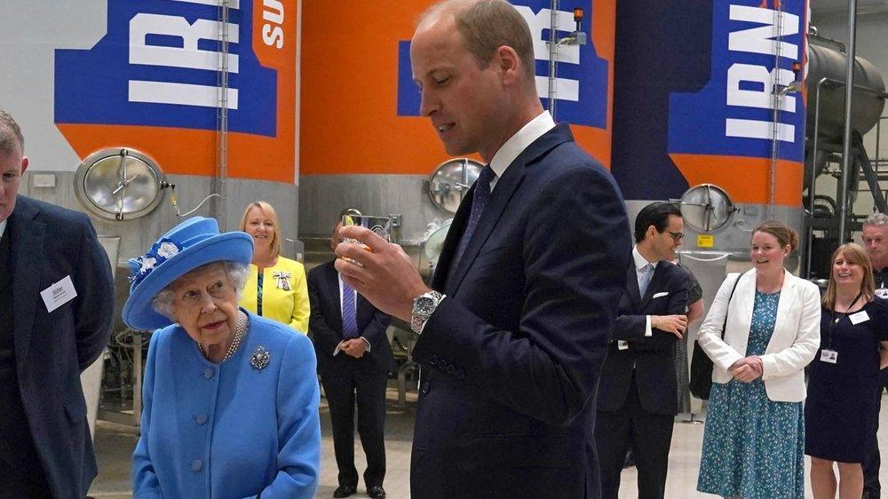 Queen Elizabeth II.: Softdrink-Tasting überlässt sie Prinz William