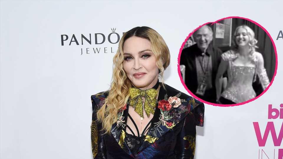 Rührend: Madonna gratuliert Papa Silvio zum 90. Geburtstag!