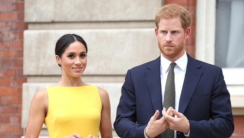Vermarkten Harry und Meghan ihr Baby? Name Lilibet Diana soll bereits lizensiert sein