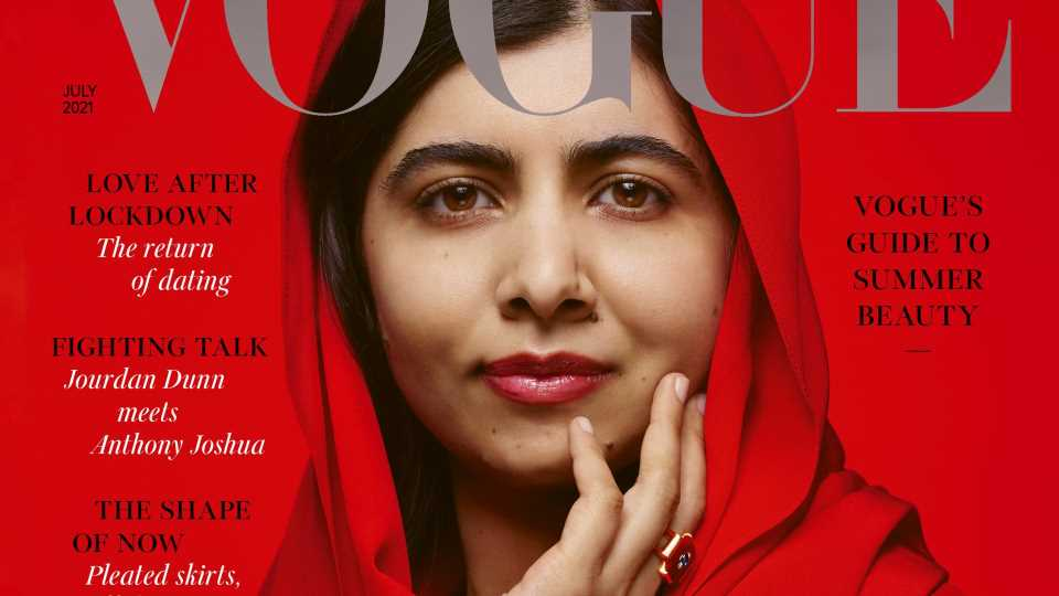 Von der Aktivistin zum Cover-Star: Malala Yousafzai ziert die britische Vogue