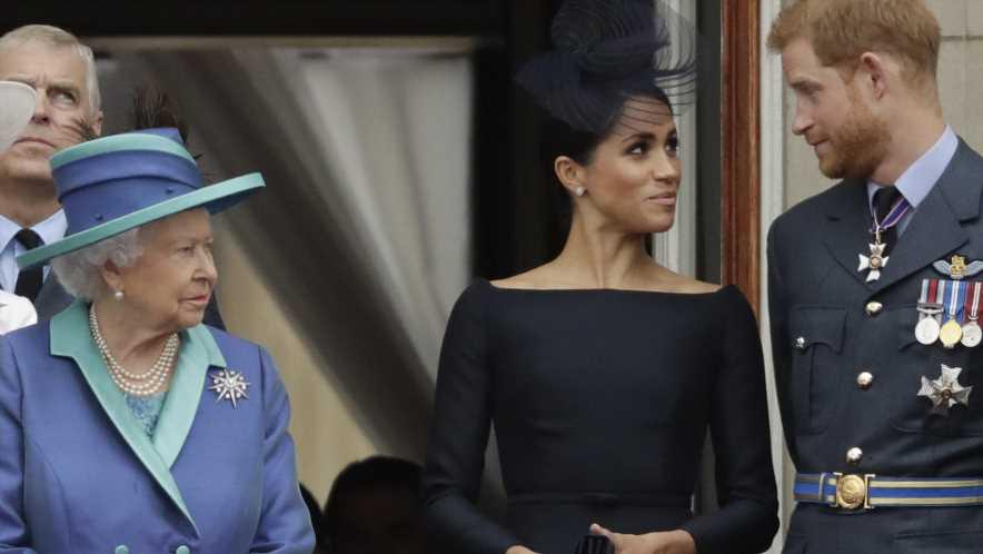 War Lilibets Name Name mit der Queen abgesprochen, oder nicht? Jetzt wehrt sich Prinz Harry!
