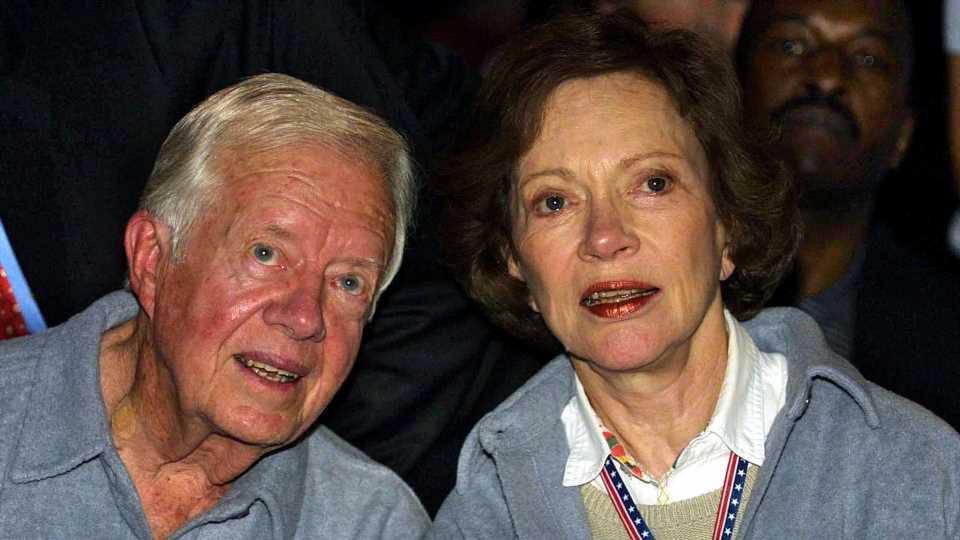 Rekord-Präsidentenehe: Jimmy Carter feiert 75. Hochzeitstag