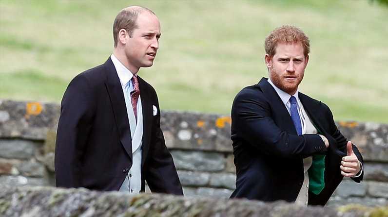 William und Harry fehlten wohl bei Hochzeit ihrer Cousine