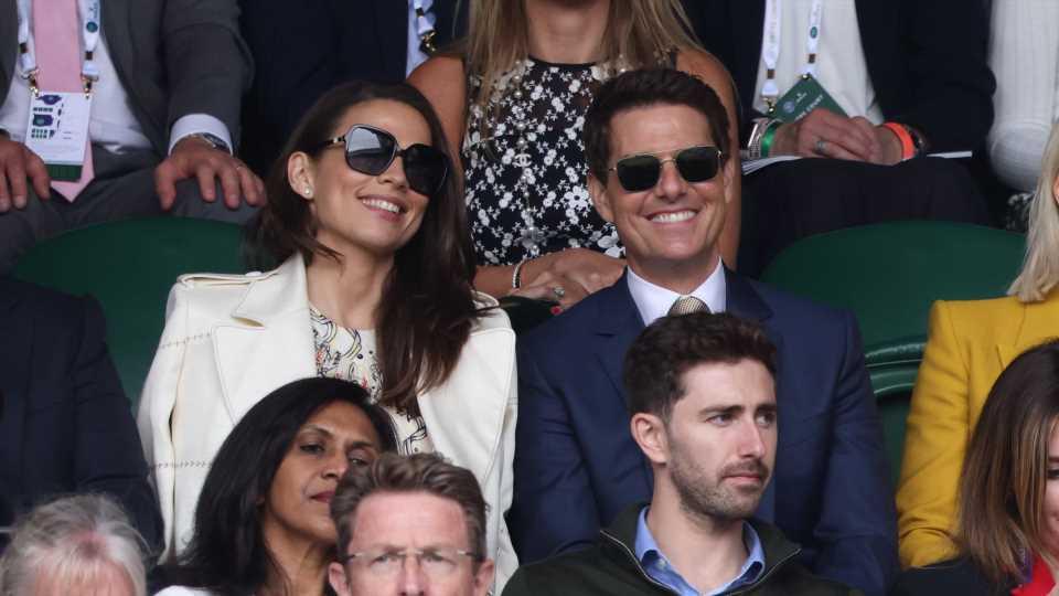 Wimbledon: Bestätigt Tom Cruise hier Beziehung zu Hayley?