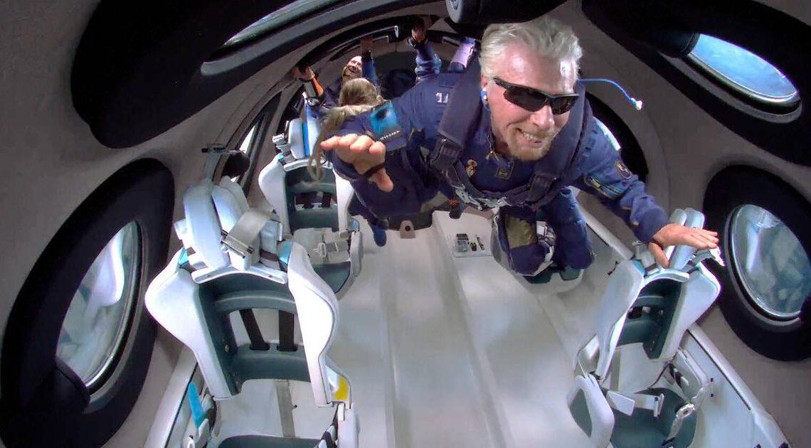 """""""Die Simpsons"""": Sahen die Macher Richard Bransons Flug ins Weltall voraus?"""