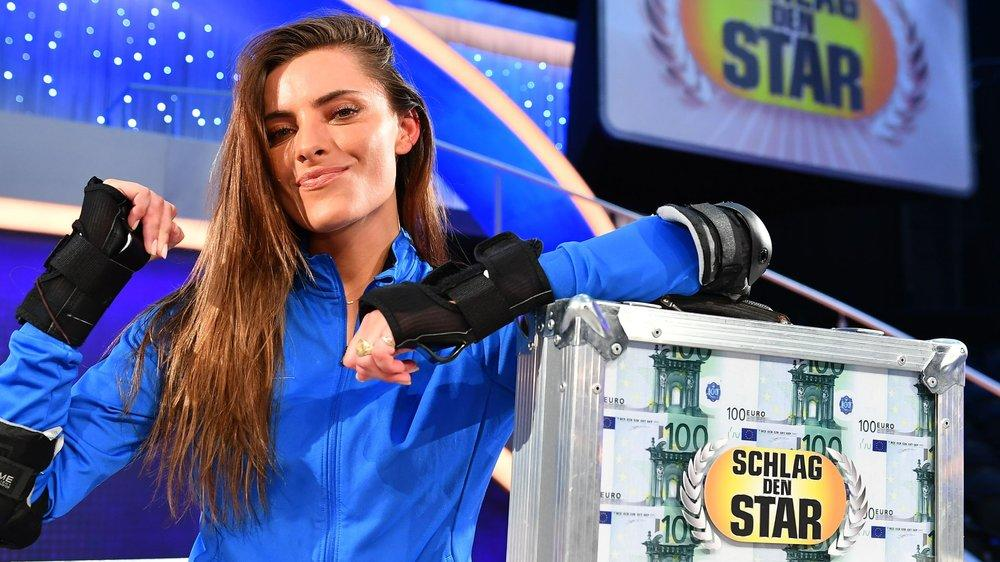 """Bei """"Schlag den Star"""": Sophia Thomalla feiert Sieg mit Hindernissen"""