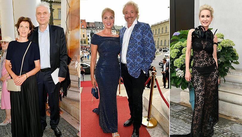 Glamourös und gewagt löchrig: Promi-Glanz an der Staatsoper