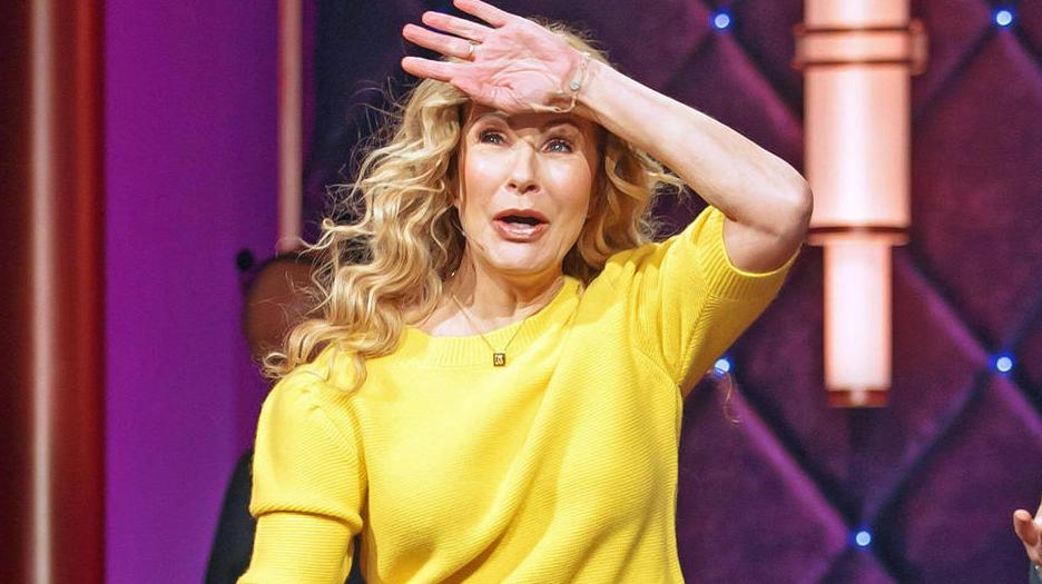 """Katja Burkard hat """"leicht einen sitzen"""""""