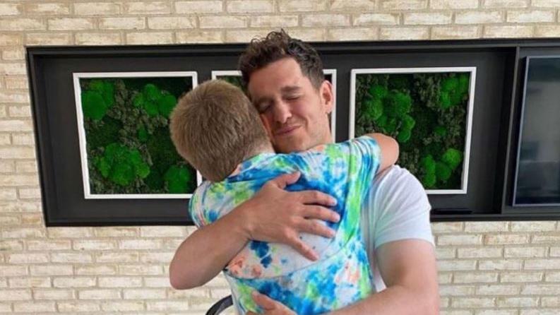 Michael Bublé: So süß gratuliert er seinem Sohn (8) zum Geburtstag