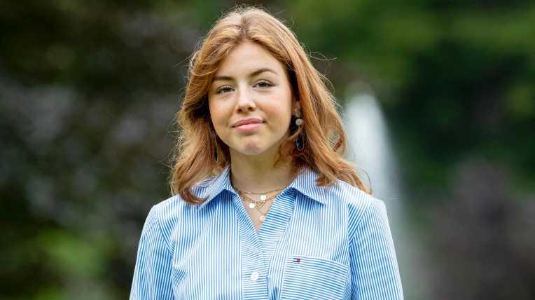 Prinzessin Alexia verabschiedet sich mit Foto ins Internat