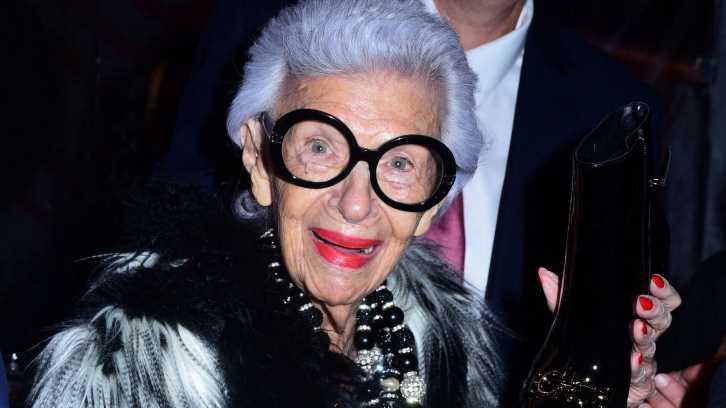 Stil-Ikone Iris Apfel feiert ihren 100. Geburtstag