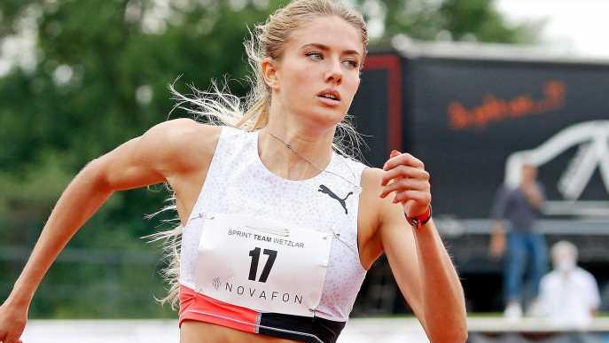 Warum sind alle verrückt nach Olympionikin Alica Schmidt?