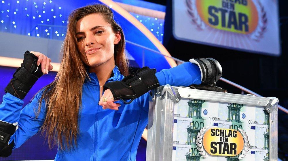 """""""Schlag den Star"""": Sophia Thomalla feiert Sieg mit Hindernissen"""
