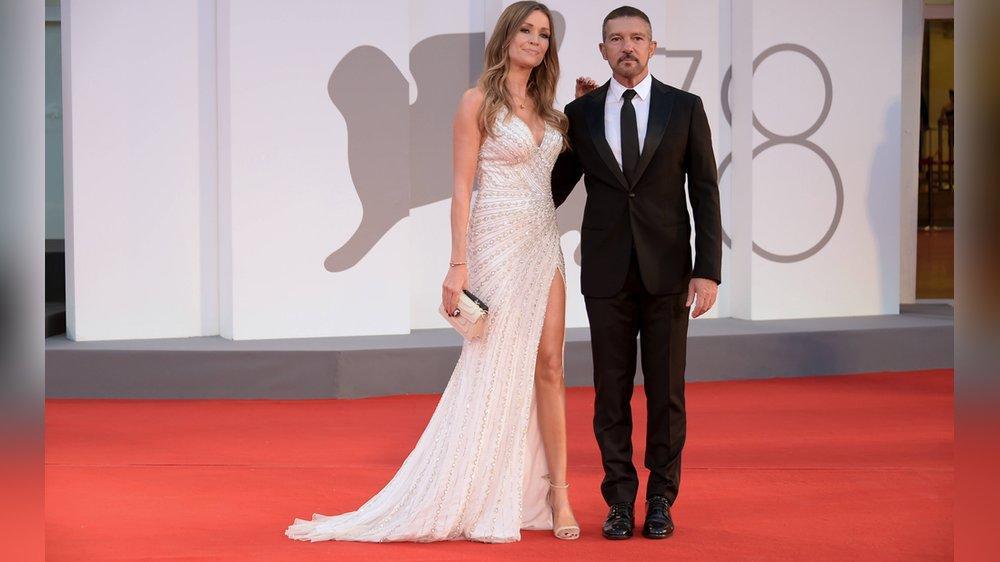 Antonio Banderas und Nicole Kimpel: Glamouröser Pärchen-Auftritt
