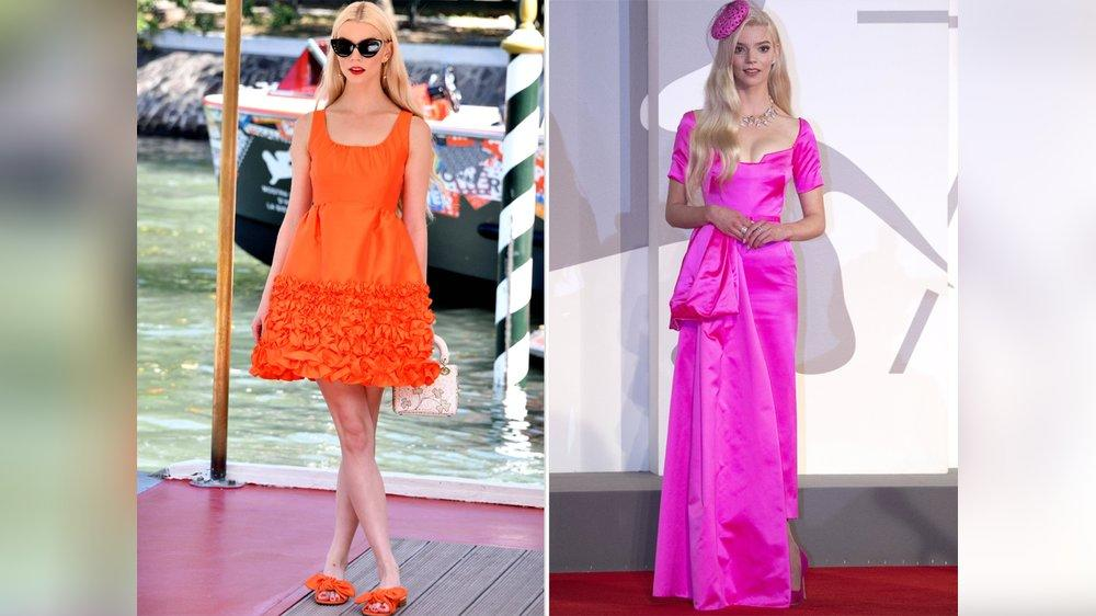 Anya Taylor-Joy bringt Farbe nach Venedig
