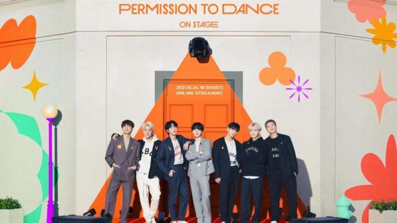 BTS kündigen Live-Stream-Konzert 'BTS Permission To Dance On Stage' an
