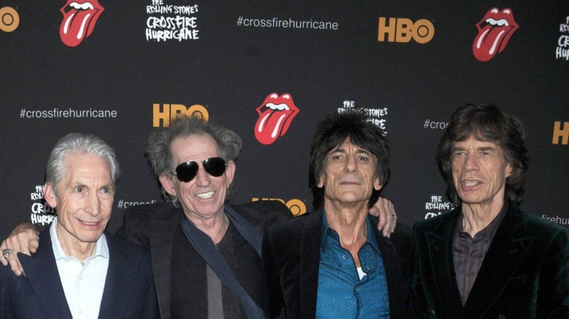 Berühmte Stones-Zunge wird schwarz