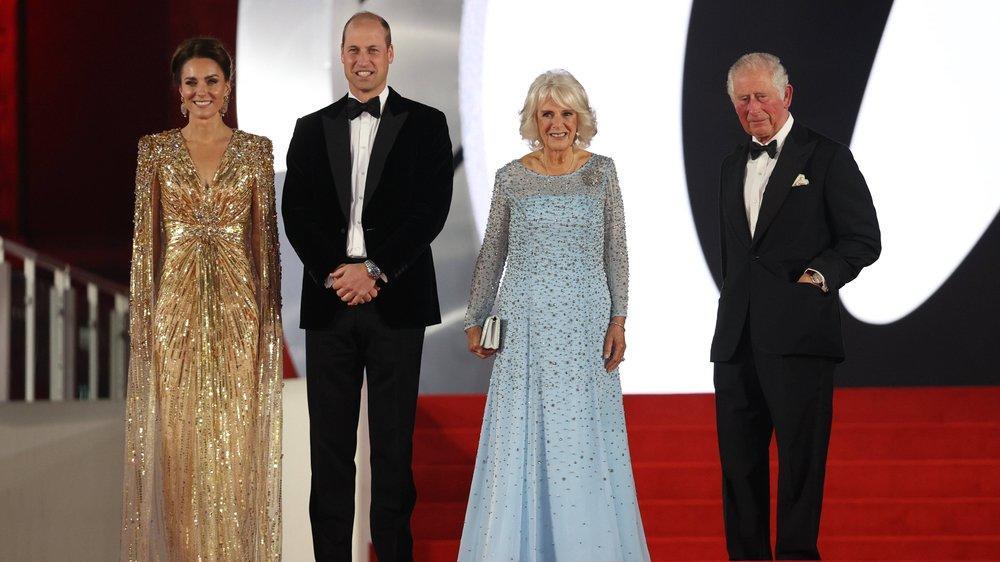 """Britische Royals feiern in London """"Keine Zeit zu sterben"""""""