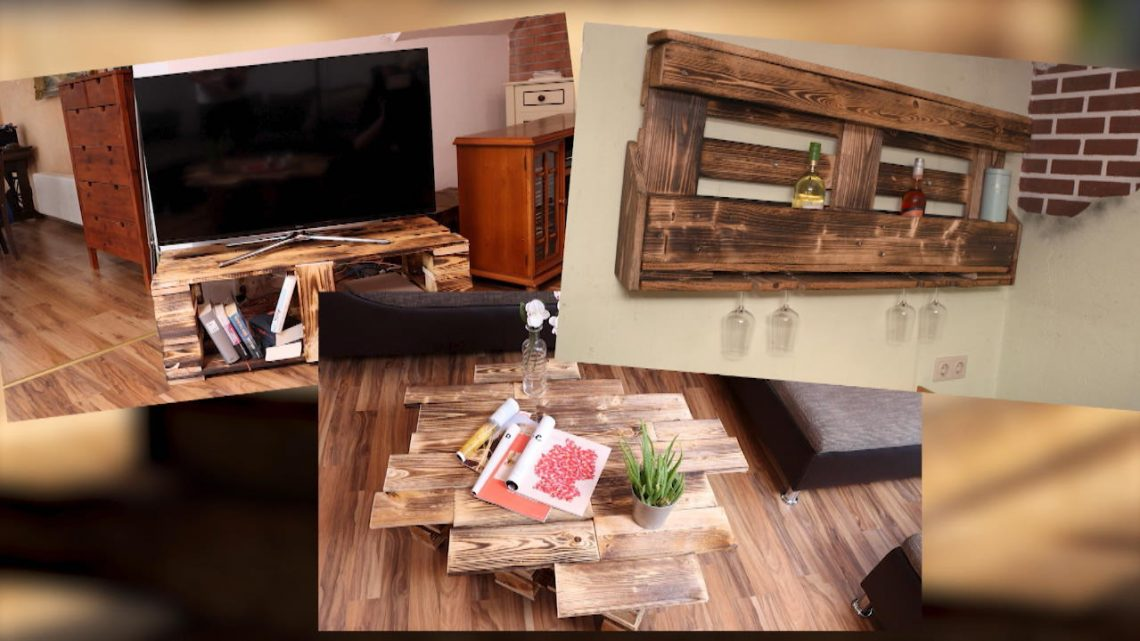 DIY für Zuhause: Coole Möbel aus Europaletten