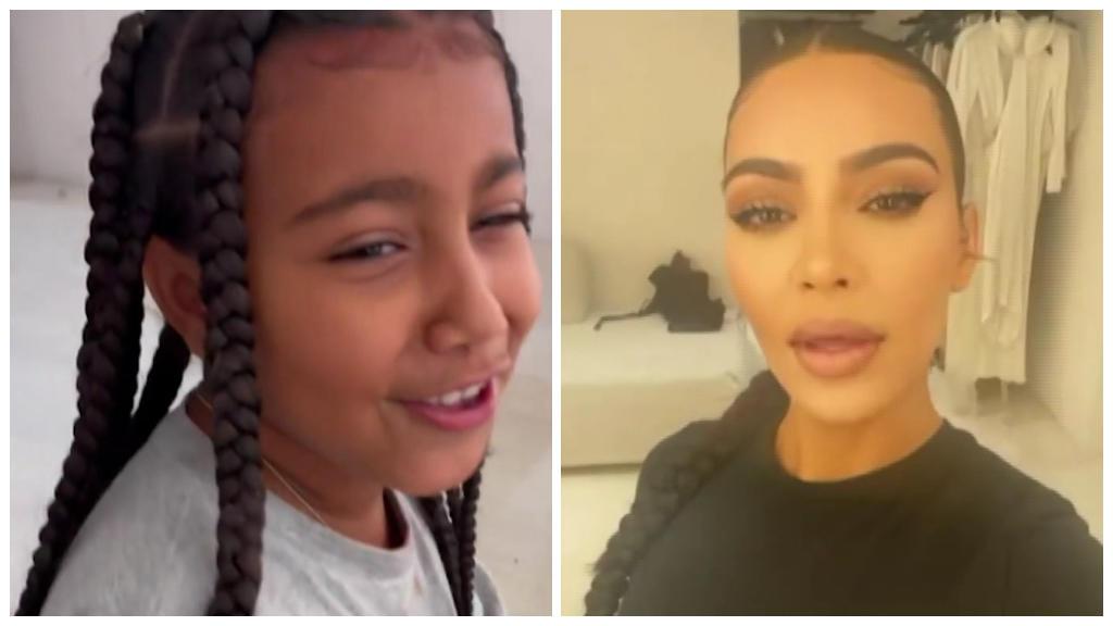 Instagram-Story gecrasht: North West blamiert Mama Kim Kardashian
