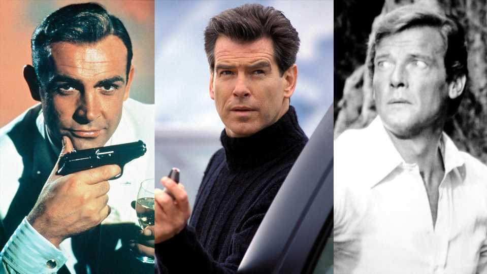 James Bond: Diese legendären Stars haben 007 gespielt