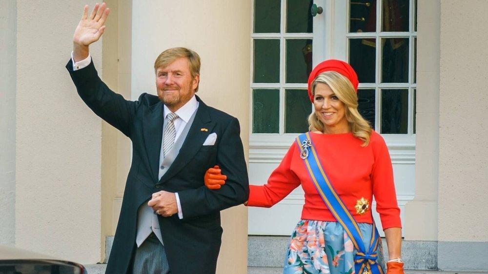 König Willem-Alexander und seine Máxima strahlen am Prinsjesdag