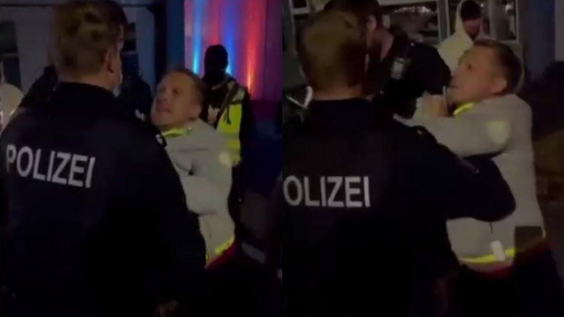 Oliver Pocher bei Strandkorbkonzert in Hartenholm von Polizei abgeführt