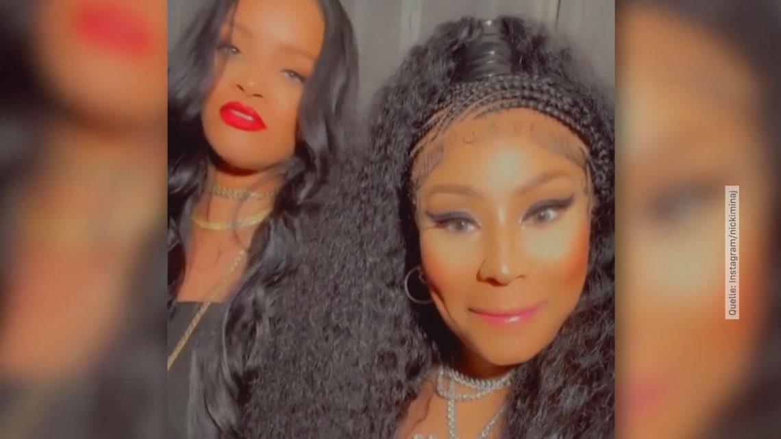 Rihanna und Nicki Minaj: Kleiner Zoff am Abend unter Freunden