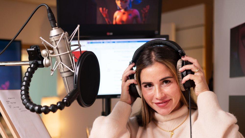 Sarah Engels singt als animierte Kino-Superheldin Ladybug