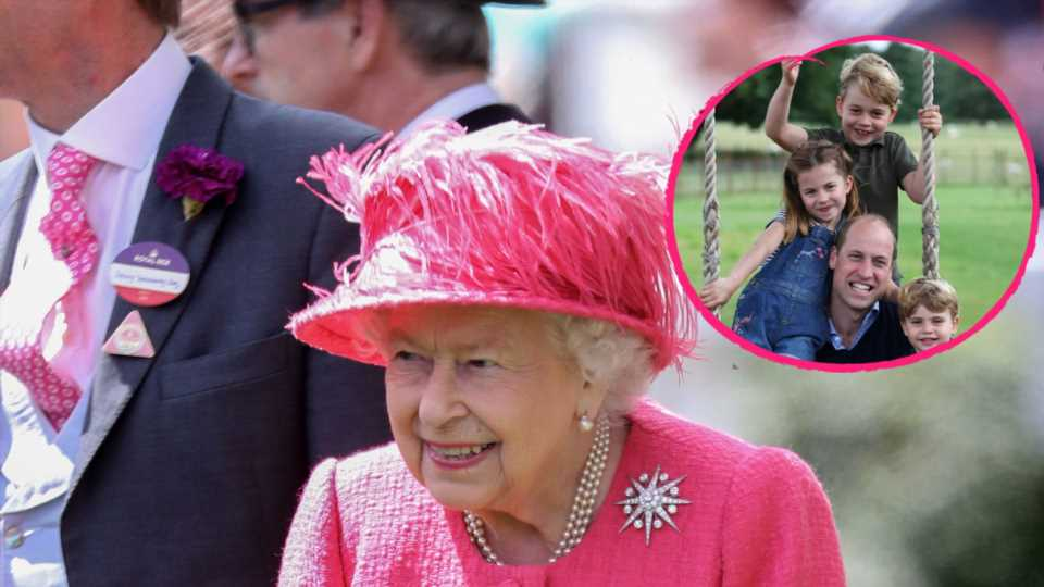 So süß überrascht Queen Elizabeth II. ihre vielen Urenkel
