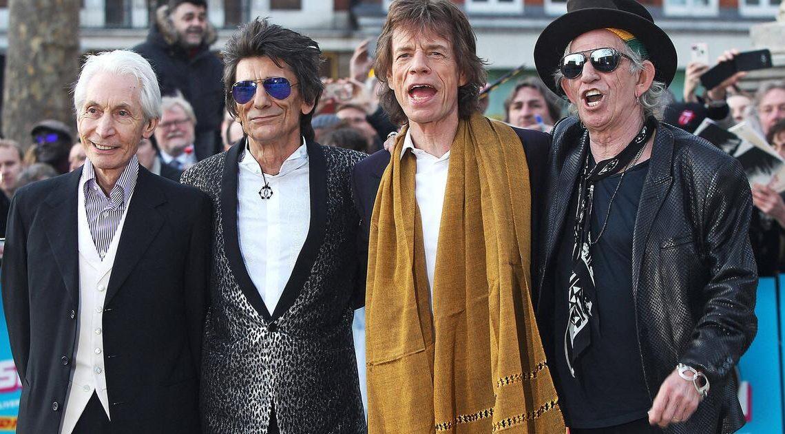 Um verstorbenen Drummer zu ehren: Die Rolling Stones färben Zungen-Logo schwarz